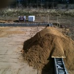 OSB-Platten gegen Sandeintrag!