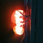 Wollen leuchten; die Unterputzdosen haben ein Eigenleben ;)