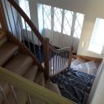 Hält sich noch bedeckt: die Treppe!