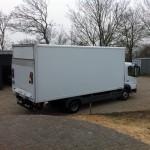 Mal OHNE Werbung: Der Sixt-Küchen-Laster...
